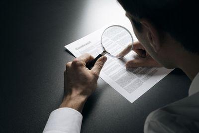 Ошибки при составлении документа - причина расторжения