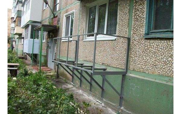 Фото этапов строительства подвесного балкона