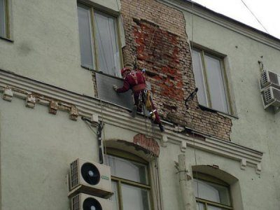 Отделка фасадов под камень фото