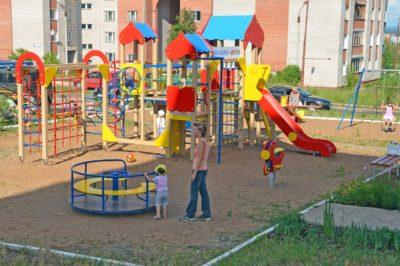Детская площадка нормативы расстояния