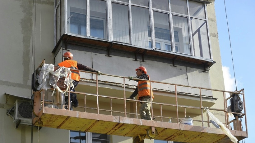 40 тысяч многоквартирных домов отремонтировано в россии в 20.
