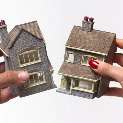 трех возможен ли развод при разделе имущества пытался проявить