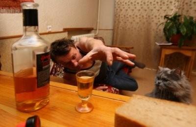 Жалоба на пьяных соседей